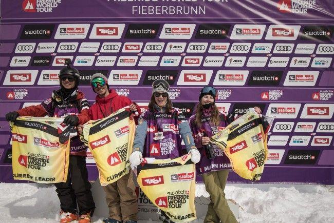 Lorraine Huber gewinnt auf Freeride-World-Tour in Fieberbrunn