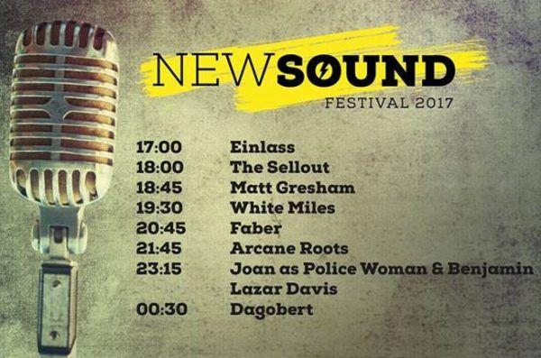 New Sound Festival 2017: Musikfans feiern wieder in der Ottakringer Brauerei