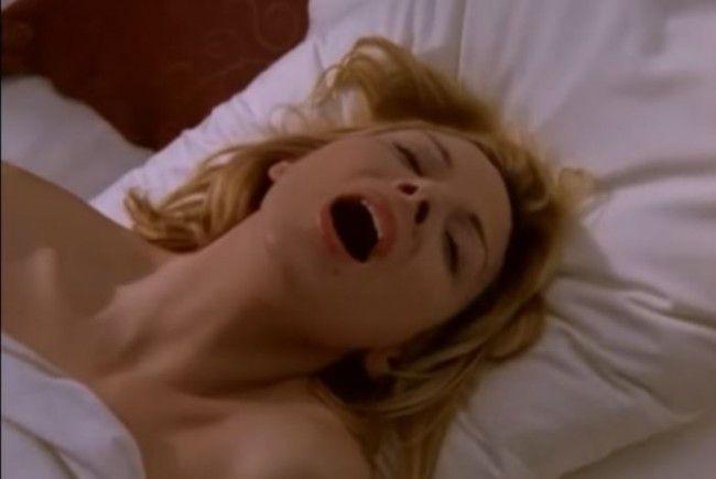 Eine Szene aus Sex and the City mit Kim Cattrall.
