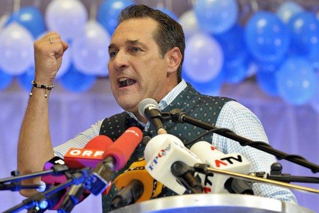 FPÖ-Chef Strache kommt nach Vorarlberg.
