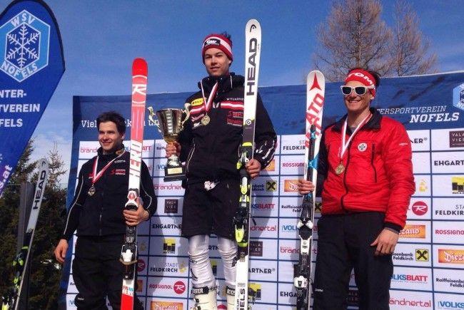 Lukas Feurstein fuhr mit 15 Jahren zum Landesmeistertitel
