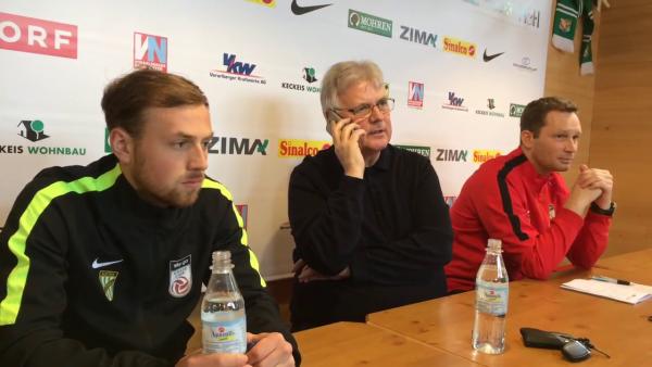 Trainerwechsel: So platzt der SV Ried in die Austria-Lustenau-Pressekonferenz