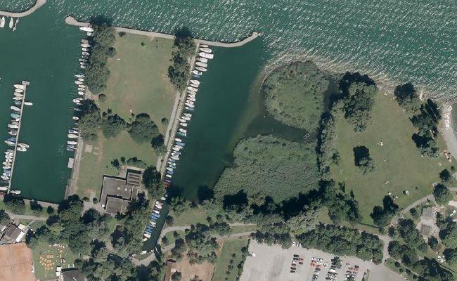 Der Bootsmotor wurde im Bregenzer Hafen Fischerbach gestohlen.