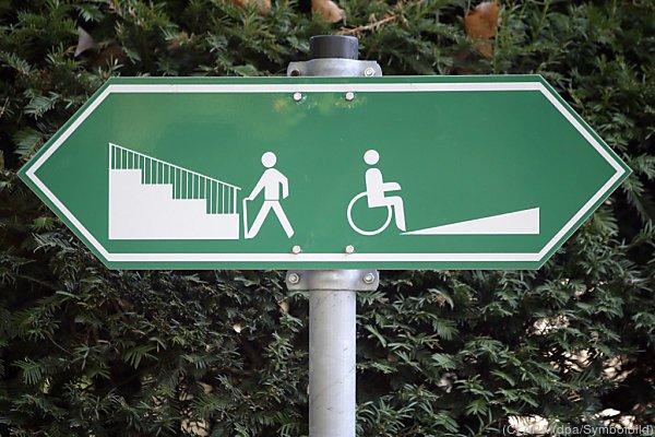 Behinderte haben oft schweren Weg