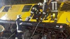 Zwei Tote bei Zugunglück - drei Schwerstverletzte