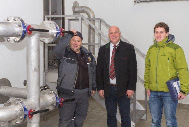 Die Versorgung der Gemeinde mit bestem Trinkwasser zählt zu den wichtigsten Aufgaben der Gemeinde.