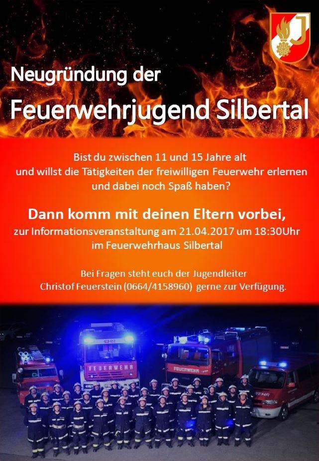 Neugründung Feuerwehrjugend Silbertal