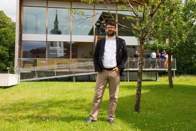 Die Anfänge waren nicht einfach – jetzt freut sich Bürgermeister Gerhard Beer über das konstruktive Miteinander in Hittisau.
