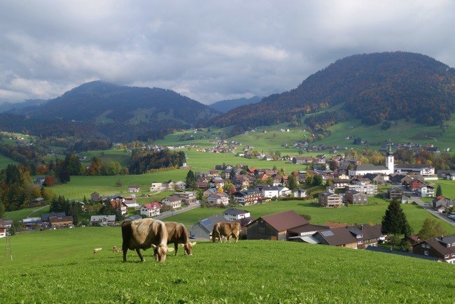 Hittisau ist die alpenreichste Gemeinde in ganz Österrreich.