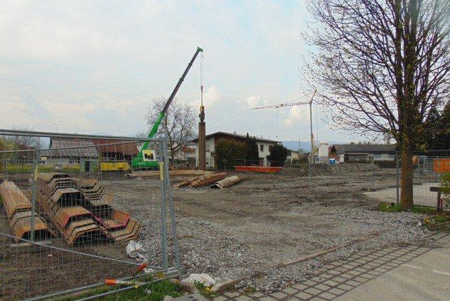 Die Bauarbeiten zum Betreuten Wohnen in Mäder haben begonnen