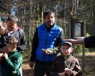 Vater-Kind-Abenteuer im Wald