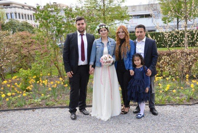 Sengül Erbek und Burak Sahin haben geheiratet