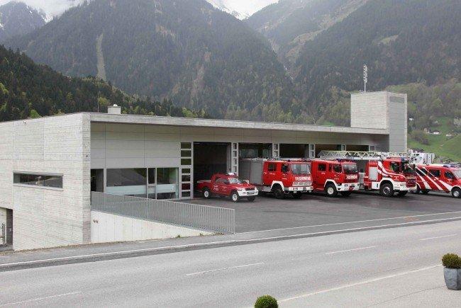 Feuerlöscherüberprüfung der OF St. Gallenkirch