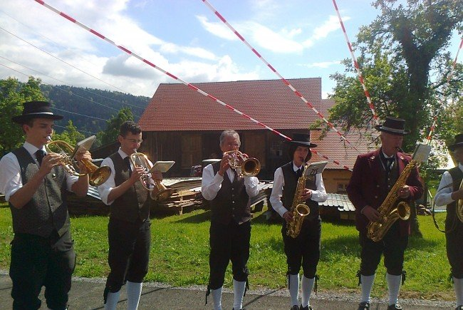 Musikverein – Maiblasen