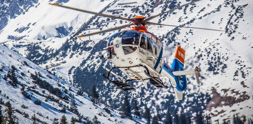 """Wintersaison: Rettungs-Hubschrauber """"Gallus 1"""" war knapp 400 Mal im Einsatz"""