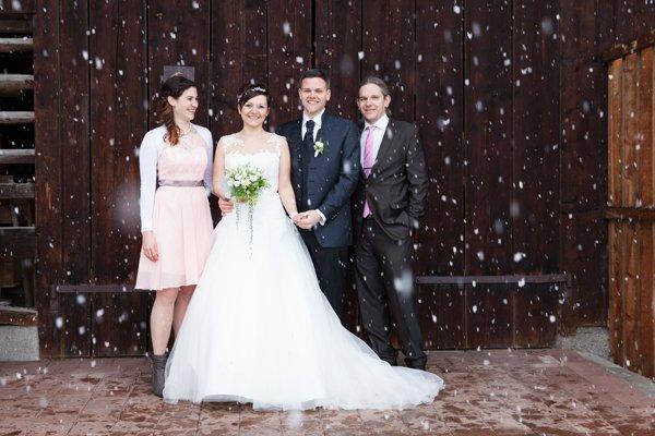 Hochzeit von Petra Bitschnau und Thomas Schuler.
