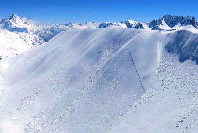 Die Höferspitze in Vorarlberg.