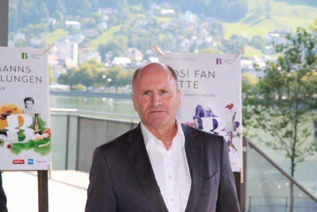 Hans-Peter Metzler bleibt auch weiterhin Festpiel-Präsident.