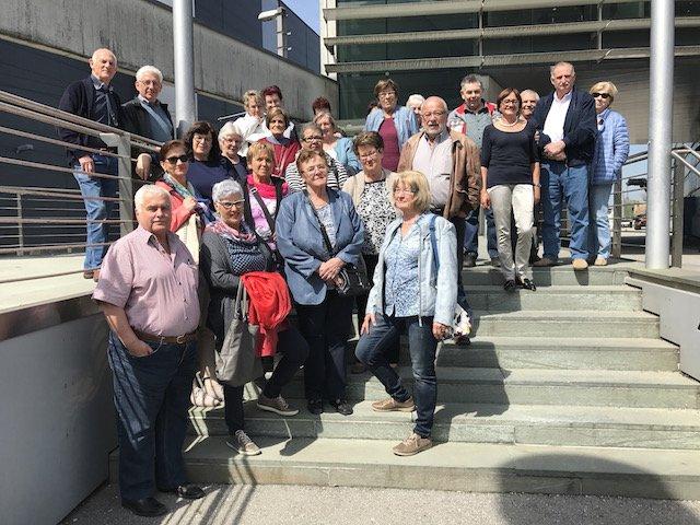 """Seniorenring – """"Generation 50plus"""" besuchte die Sparzentrale in Dornbirn"""
