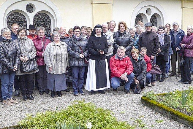 Im Klostergarten von Gwiggen