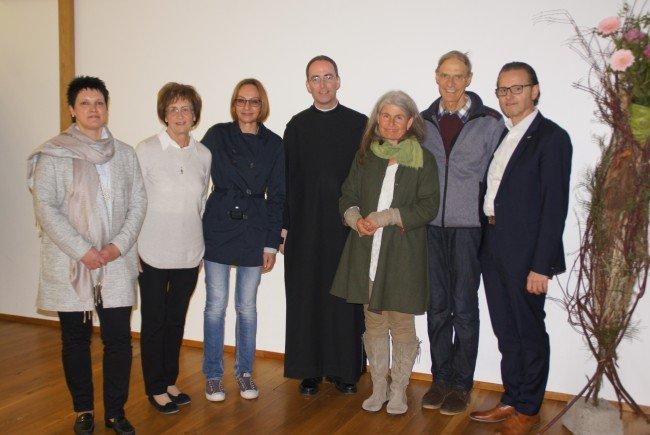 Das Organisationsteam der Leiblachtaler Pfarrgemeinden freute sich mit den Referenten Pater Kolumban Reichlin und Kräuterpädagogin Susanne Türtscher über den besonderen Erfolg des Glaubensforums 2017.