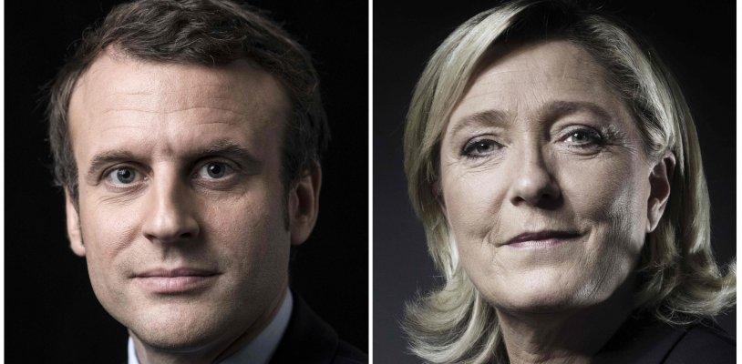 Macron und Le Pen gehen in Stichwahl - Unabhängiger gegen Rechtspopulistin