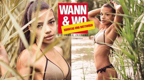 W&W-Fotoshooting mit Milena