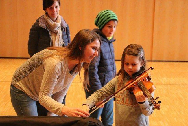 Infotag an der Musikschule