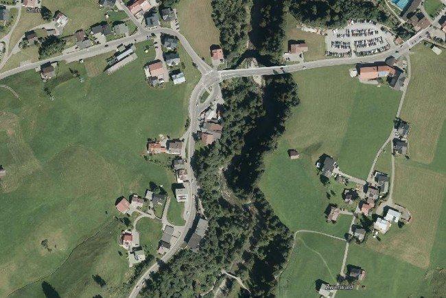 Der Unfall ereignete sich auf der L201, auf Höhe Walserstraße 96.