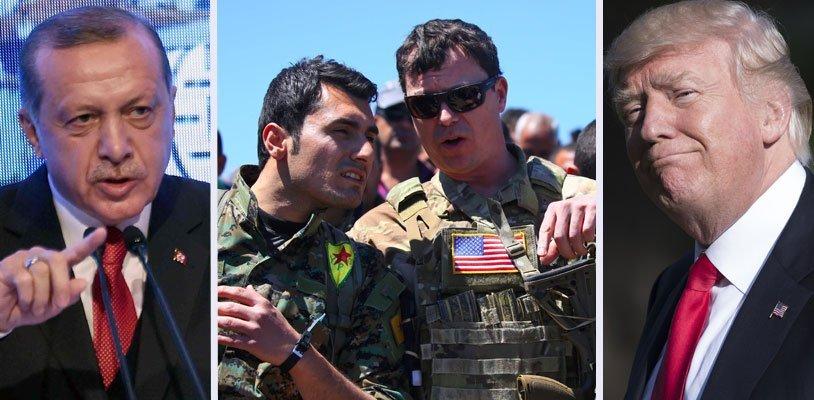 US-Unterstützung für kurdische Milizen - Dicke Luft zwischen Erdogan und Trump