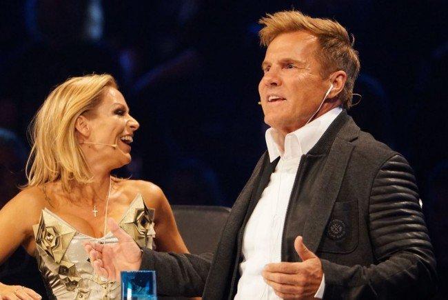 Schlagersängerin Michelle und Dieter Bohlen.