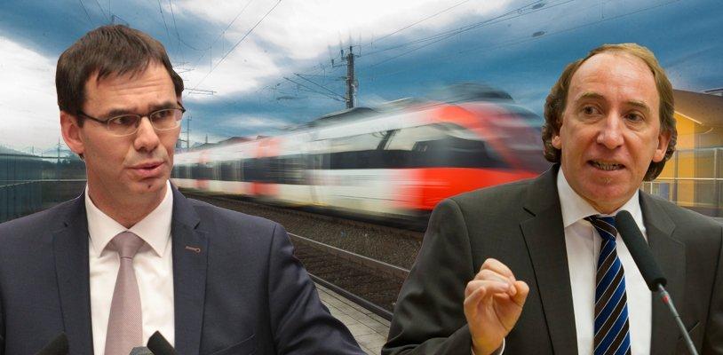 Ausbau des Bahnangebots in Vorarlberg: Bund und Land investieren 368 Millionen