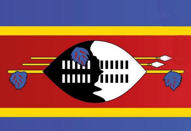 Tipp: Diese Fahne kommt aus einem kleinen Staat in Afrika.
