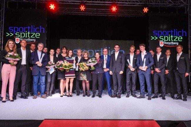 Bettina Plank, Alessandro Hämmerle und SCR Altach die Besten