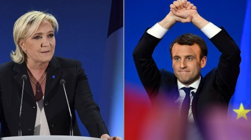 Unabhängiger gegen Populistin: Franzosen wollen Veränderung