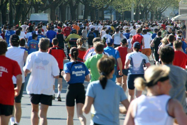 Sieben Marathons laufen Vorarlberger durchschnittlich pro Jahr.