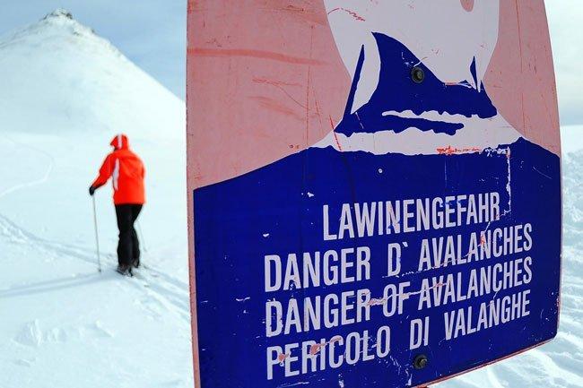 Wintersportler wurden aber weiter zu Vorsicht gemahnt.