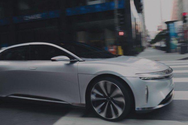 Lucid Motors will am E-Auto-Markt mitnaschen.