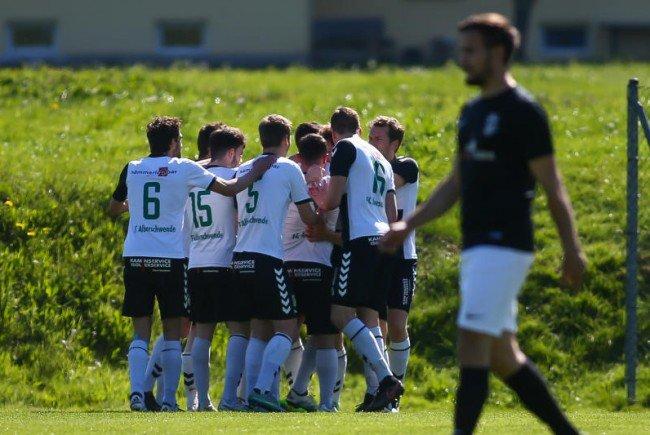 FC Alberschwende auf einem Aufstiegsplatz
