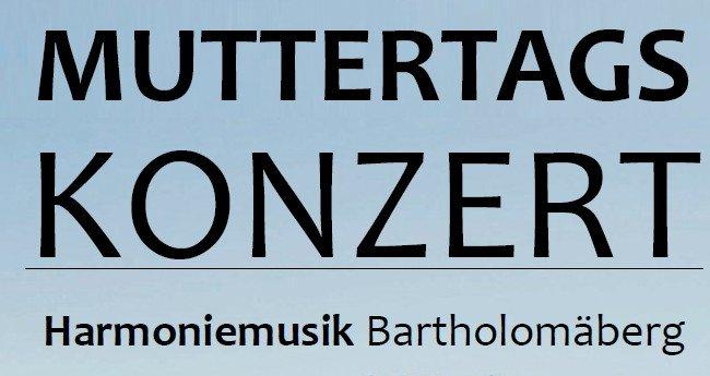 Muttertagskonzert der Harmoniemusik Bartholomäberg