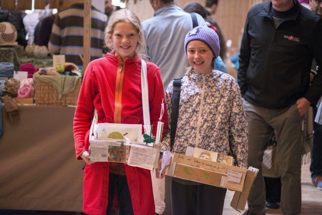 Jung und Alt trifft sich beim 3. Wäldermarkt am kommenden Montag 1. Mai.