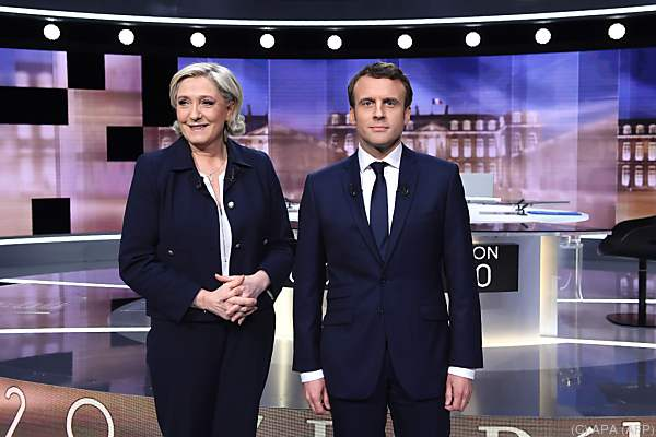Umfrage: Macron setzt sich bei TV-Debatte gegen Le Pen durch
