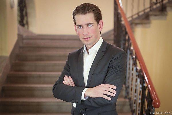 Österreichs Außenminister Kurz ist neuer ÖPV-Chef