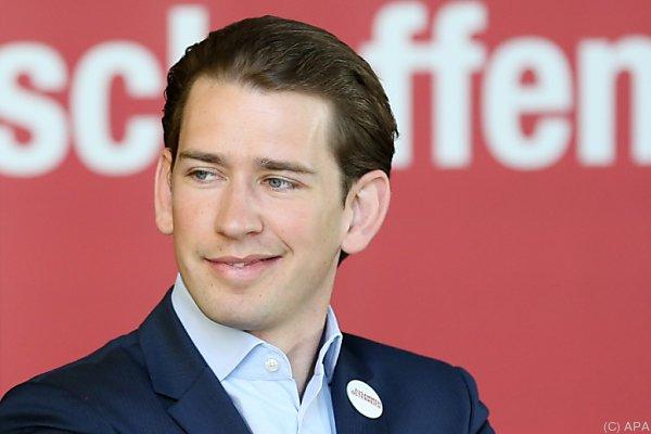 Österreichs Außenminister Kurz verhandelt über seine Neuwahl-Forderung
