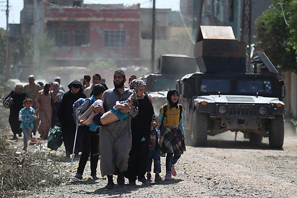 """Laut UNO ist Flüchtlingszahl """"überwältigend"""""""