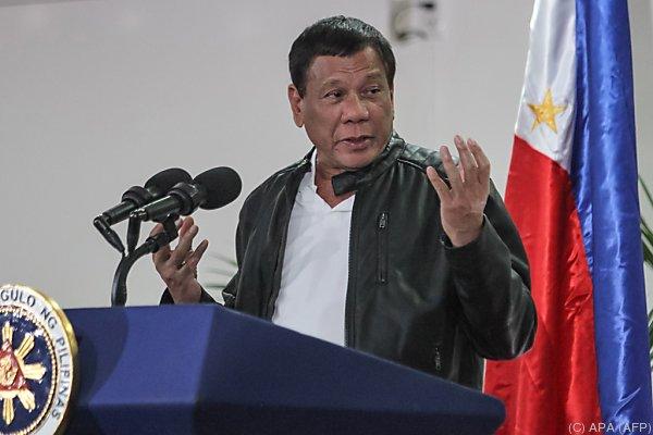 Duterte geht seinen mörderischen Weg weiter