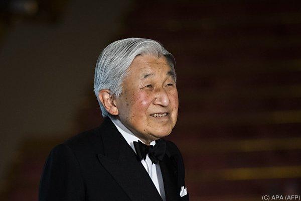 Akihito würde gerne abdanken