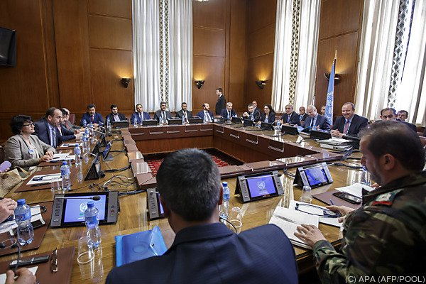 Neue Runde der Syrien-Friedensgespräche bei UN in Genf