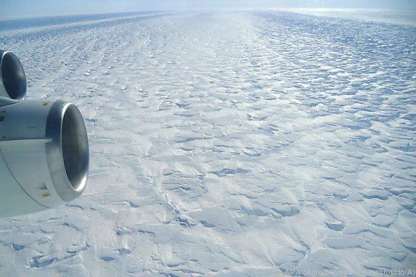 Das Weiße der Antarktis geht zurück