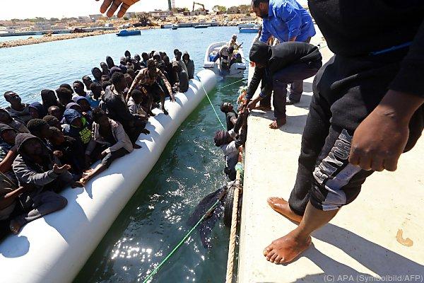 Fast 50.000 Migranten erreichten heuer bereits Italien